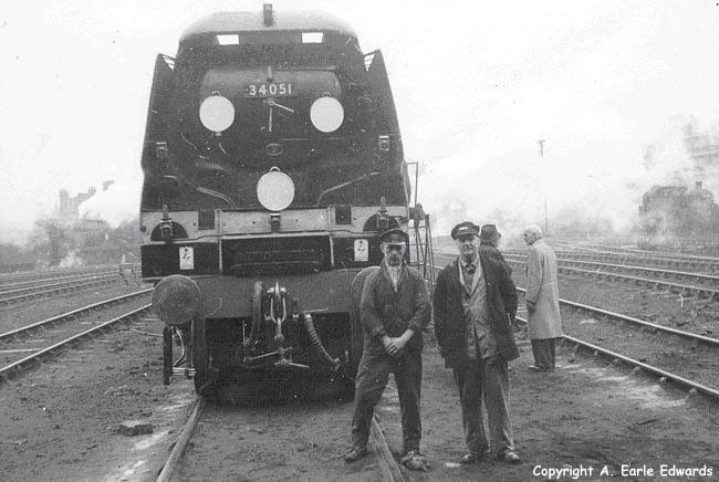 Nine Elms Locomotive Shed Winston Churchill Funeral Train