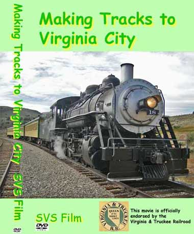Making Tracks to Virginia City DVD cover